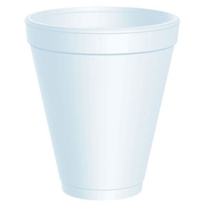 081096 -  Dart 12oz.  Foam Cup