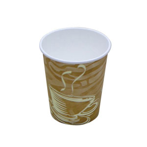083201 -  8 oz.  Swirl Paper Hot Cup