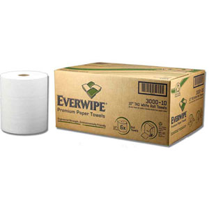 "346221 - 10"" White Roll Towel"