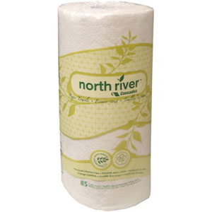 349039 - North River® White 2-Ply Household Roll Towel