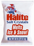 22722 - Halite Salt Crystals Ice Melt - 50 lb Bag