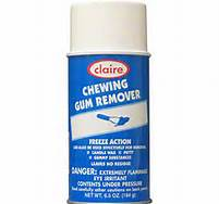 F00160 - CHEWING GUM REMOVER